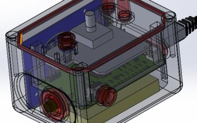 Boitier électronique 3D –  Objet connecté